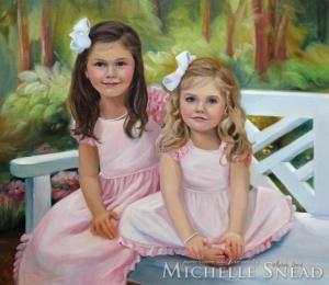 Audrey & Madeline