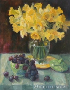Daffodils and Grapes